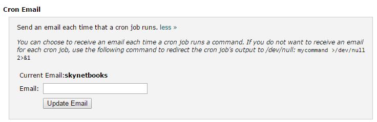 設定 cron