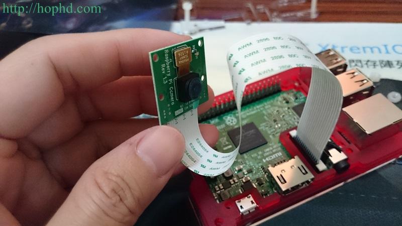 Raspberry Pi安裝原廠相機模組