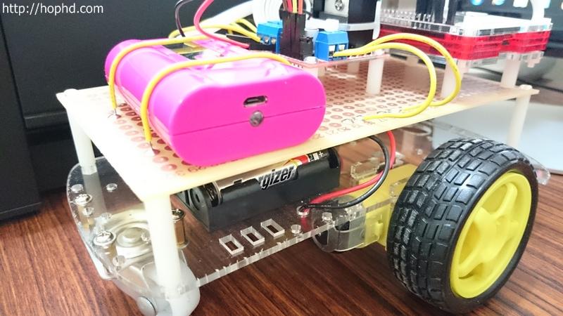 Raspberry Pi 樹莓派遙控車組裝參考