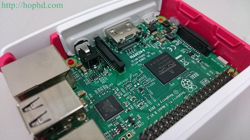 【開箱】好用的樹莓派外攜盒Raspberry Pi 3 Case