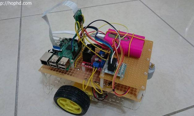 最新組裝版Raspberry Pi 3遙控車