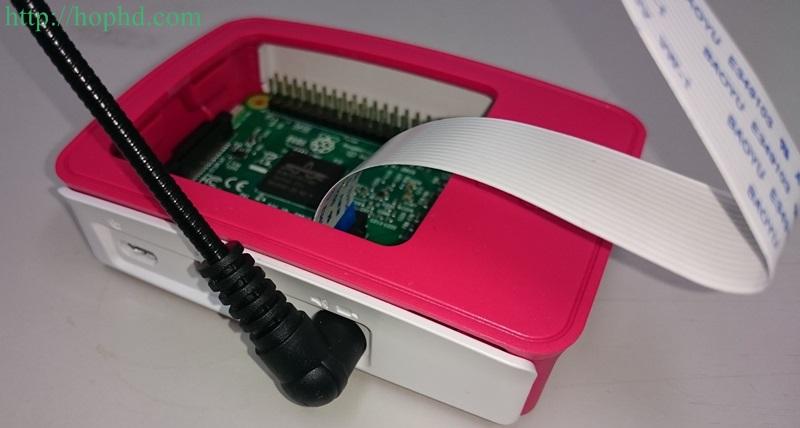 Raspberry Pi 360度鵝頸固定套件開箱