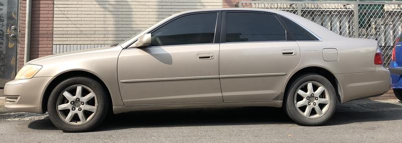 Toyota Avalon 2002年式最終一瞥